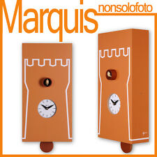 "orologio a cucù 201 "" Torre"" mattone  Pirondini  Time Marquis"