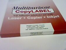 240 ADDRESS POSTAGE LABELS WHITE-12 PER A4 SHEET-FOR ALL PRINTERS/COPIERS/LASERS