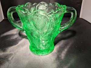 Mosser Glass  Inverted Strawberry Spooner