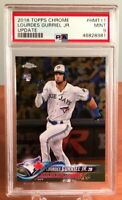 2018 Topps Chrome Update Lourdes Gurriel Jr #HMT11 Rookie RC PSA 9 MINT