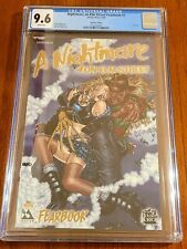 Nightmare On Elm Street Fear Book #1 Gold Foil CGC 9.6 With Coa