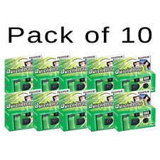 10x Fujifilm Quicksnap Single Use / Disposable Camera - 27 Exposures With Flash