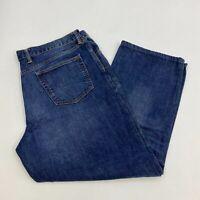 Gap Denim Jeans Mens 40X32 Blue Straight Leg Loose Fit 100% Cotton Medium Wash