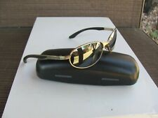 SPEEDO SUNGLASSES METAL FRAME COLOR SILVER LENS GRAY. PRE OWNED