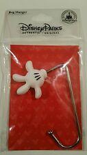 Disney Parks MICKEY MOUSE Handbag Hook Purse Holder Bag Hanger White Glove New