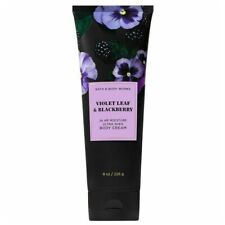 Bath & Body Works Violet Leaf & Blackberry Body Cream 8 oz / 226 g