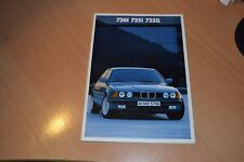 CATALOGUE BMW série 7 de 1986