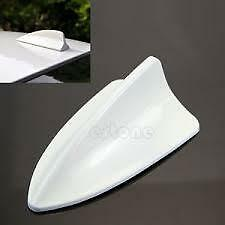 Rear Shark Fin Aerial AM/FM Antenna fits NISSAN X-TRAIL White