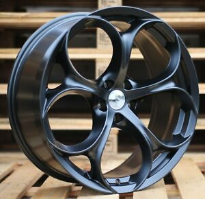 "19"" 4 Jantes pour Alfa Romeo Giulia Giulietta Stelvio Brera 159 Spyder 5x110"