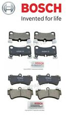 For Audi Q7 VW Touareg Front & Rear Brake Pad Set Bosch 7L0698151R/7L0698451F
