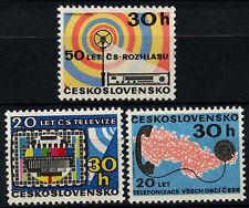 Czechoslovakia 1973 SG#2100-2 Telecommunications MNH Set #D39054
