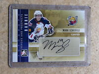 11-12 ITG Heroes & Prospects Rookie RC MARK SCHEIFELE #A-MSC Autograph