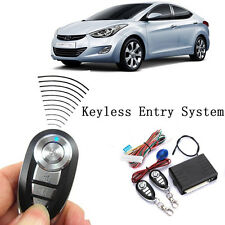 Universal CAR REMOTE CONTROL ALARM KEYLESS ENTRY SYSTEM Anti-Theft Door Lock New