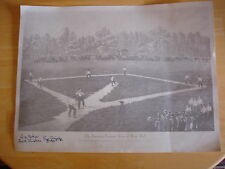Lou Dials - Negro League Baseball Star - Autographed Vintage Black & Whie Print