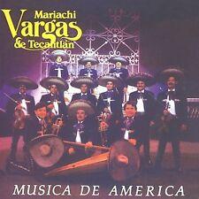 Mariachi Vargas de Tecalitl n - Musica de America [New CD] Manufactured On Deman