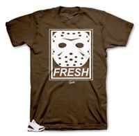 Shirt Match Jordan Retro 3 Mocha - Fresh Death Tee