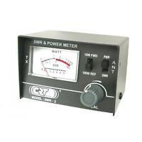 CRT 2 - kleines SWR- & Leistungsmessgerät / Wattmeter für CB Funk