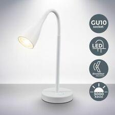 LED Tischlampe Leuchte Schreibtisch Lampe Nachttisch 5W Büro Leselampe 230V weiß