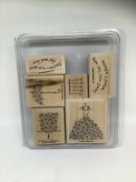 """Stampin Up """"Blooming With Happiness""""  2006 Retired Set Of 6 NOS"""