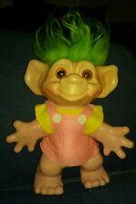 """Vintage Rare """"Dam Things"""" 1964 Troll green Hair norfin treasure russ"""