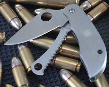 Couteau Spyderco ClipiTool 2 Lames Acier 8Cr13MoV 1 Scie Manche Acier SC176PS