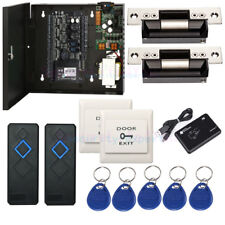 ZKAccess C3 200 Access Control  System & ANSI Strike Lock RFID Reader 230V Power