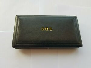 OFFICER OF THE MOST EXCELLENT ORDER BRITISH OF THE EMPIRE,OBE MEDAL CASE