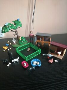 Playmobil Mixed Set of Animals and Accessories