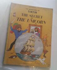 THE ADVENTURES OF TINTIN secret of unicorn softcover '84 herge Hergé magnet rare