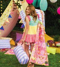 NEW Girls Matilda Jane Moonlight Magic Sleeping Bag Set, Let The Adventure Begin