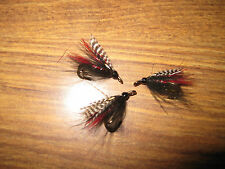 3 V Fly Size 14 RV Ultimate CDC Teal Black & Red Double Sea Trout Flies