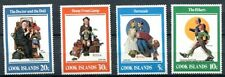 COOK ISLANDS 1982 NORMAN ROCKWELL PAINTINGS - MEDICINE - MUSIC MINT SET!!