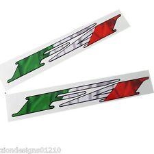 Mv Agusta F4 Motorrad Abziehbilder Grafiken Italienische Flagge Design X 2 Teile