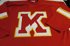 Adult XL Koronis Sports Apparel Logo Red Hockey Jersey By Koronis Sports