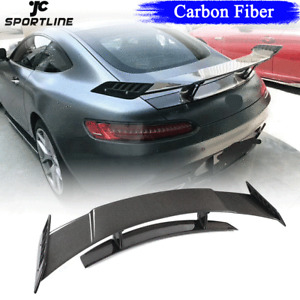 Fit For Mercedes Benz AMG GT Coupe 2015-18 Carbon Fiber Rear Trunk Spoiler Wing