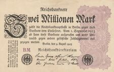 * Ro. 103a - 2 millones de marcos-Deutsches Reich - 1923-Fz: bm *