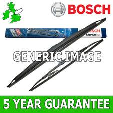 Bosch Super Plus gancho en U Hojas de limpiaparabrisas delantero Set 475/475mm