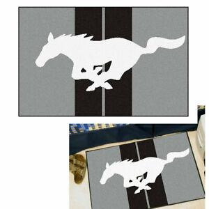 Ford Mustang Horse Pony USA Logo Rug Teppich Starter Mat Matte Fußmatte Vorleger