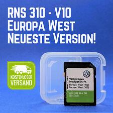 Rns 310 West Europe Navi mise à jour 2018 carte SD v10 VOLKSWAGEN SEAT SKODA