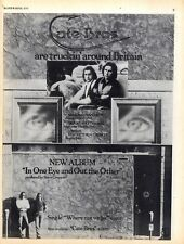 BS211P05 CATE BROS : IN ONE EYE AND OUT THE OTHER ALBUM & TOUR ADVERT 11X8""