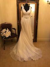 Maggie Sottero wedding Dress DEBRA Size 10 Ivory NEW!!