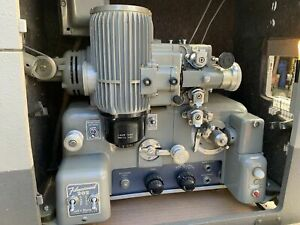 Bell & Howell 16mm Sound Projector 202 Optical/Magnetic Record/Play Warranty