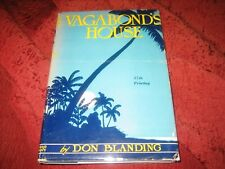 VAGABOND'S HOUSE DON BLANDING HARDCOVER SIGNED 37TH PRINTING