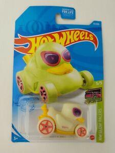 Hot Wheels Duck N' Roll HW Glow Racers 5/5 Glo In Dark 2021