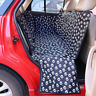 Pet Dog Car SUV Rear Back Seat Cover Protector Hammock Pad Waterproof Non Slip