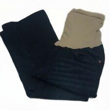Oh Baby Motherhood Dark Wash Flared Jeans-Small