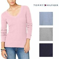 Tommy Hilfiger Women's V-Neck Knit Sweater