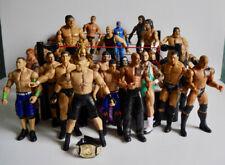 WWE RAW WRESTLING RING 2010 MATTEL + 28 WRESTLERS RAY MYSTERIO WRESTLING BELT