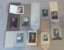 Antique Family Photographs Portraits Priest OK KS ND LOT of Old Pictures