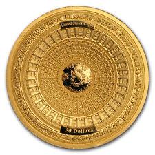 2017 Samoa 100 gram Gold United States Capitol 4-Layer Coin - SKU#153014